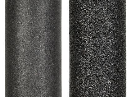 Сравнительное фото карбонблока Prio Новая Вода и типичного распространенного на рынке карбонблока
