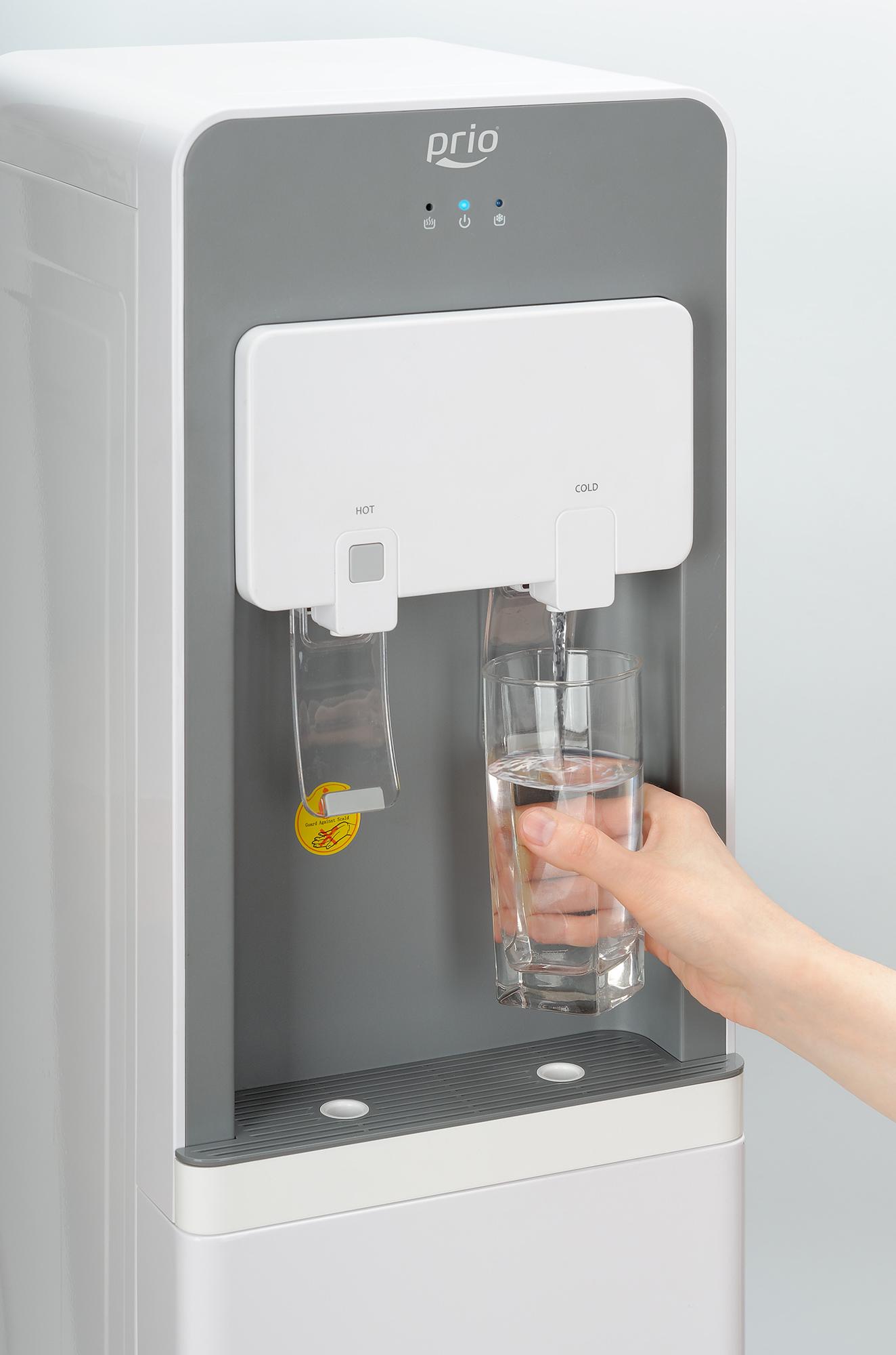 Получение охлажденной воды с помощью диспенсера P500
